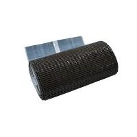 Лента для примыкания гофрированная алюминиевая GRAND LINE,  0,3*2,5 м, коричневый
