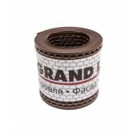 Лента вентиляционная ПВХ GRAND LINE,  0,1*5 м, коричневый