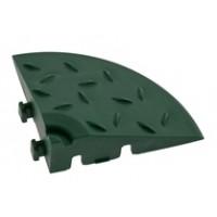 Угловой элемент обрамления, зеленый