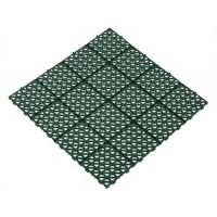 Газонная решётка универсальная , 0,333 х 0,333 х 0,01 м , зеленый