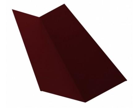 Ендова простая 2м 145х145 RAL 3005 вишня