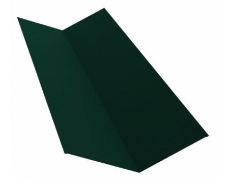 Ендова простая 2м 145х145 RAL 6005 зеленый