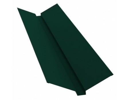 Ендова профильная 2м 145х145 RAL 6005 зеленый