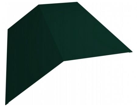 Конек простой 145х145 RAL  6005 зеленый