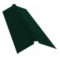 Конек профильный 2м 145х145 RAL 6005 зеленый
