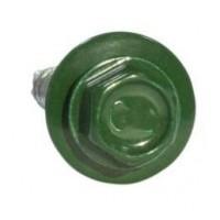Саморез кровельный 4,8х35 RAL 6005 зеленый