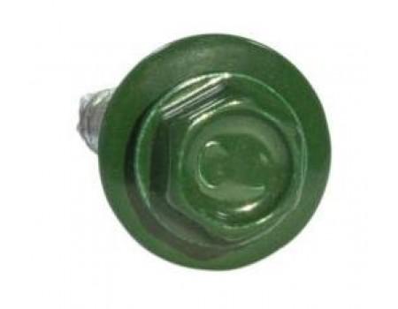 Саморез коньковый 4,8х70 RAL 6005 зеленый