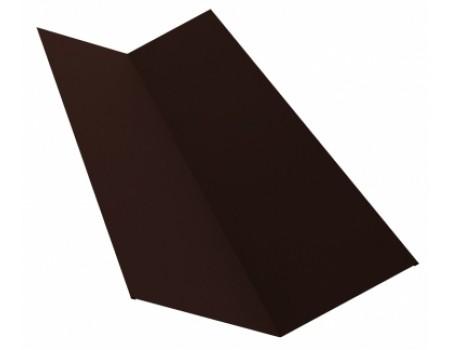 Ендова простая 2м 145х145 RAL 8017 коричневый