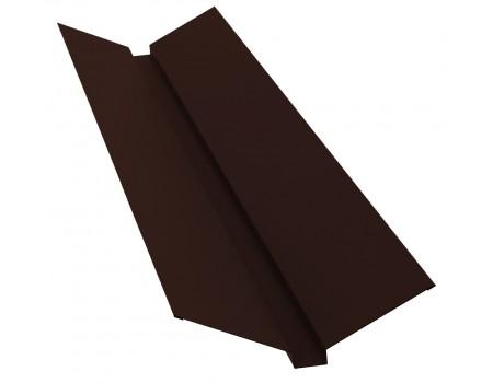 Ендова профильная 2м 145х145 RAL 8017 коричневый