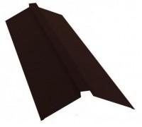 Конек профильный 2м 145х145 RAL 8017 коричневый
