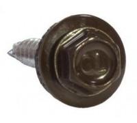 Саморез коньковый 4,8х70 RAL 8017 коричневый