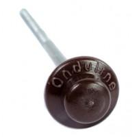 Гвоздь с литой шляпкой Ондувилла коричневый (уп. 100 шт.)