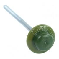 Гвоздь с литой шляпкой Ондулин зеленый (уп. 100 шт.)