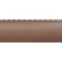 """Блокхаус акриловый BH-01 """"Красно-коричневый""""  3,10м х 0,2м"""
