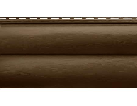 """Блокхаус акриловый  BH-03 """"Орех темный""""  3,10 х 0,226 м"""