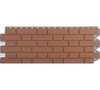 Панель кирпич клинкерный (красный), 1,22 х 0,44м