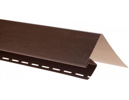 Околооконная планка для блокхаус, коричневый,  3,05 м