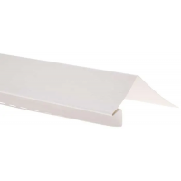 Околооконная планка для блокхаус, белый,  3,05 м