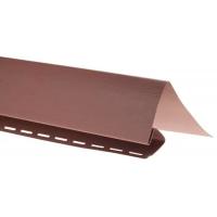 Околооконная планка для блокхаус, красно-коричневый,  3,05 м