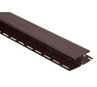 Соединительная планка для блокхаус, коричневый,  3,05 м