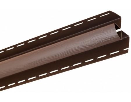 Угол внутренний для блокхаус, коричневый,  3,05 м