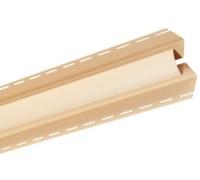 Угол внутренний для блокхаус, золотистый,  3,05 м