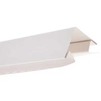 Угол наружный для блокхаус, белый,  3,05 м