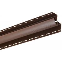 Угол внутренний для блокхаус, орех темный,  3,05 м