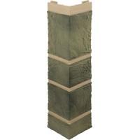 Наружный угол камень (малахит), 0,47 х 0,11м