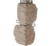 Наружный угол бутовый камень (нормандский), 0,44 х 0,18м