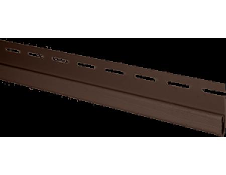 """Планка финишная, коричневый, """"Альта-профиль"""",  3 м"""