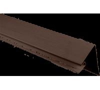 """Околооконная планка широкая, коричневый, """"Альта-профиль"""",  3,05 м"""
