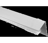 """Околооконная планка широкая, белый, """"Альта-профиль"""",  3,05 м"""