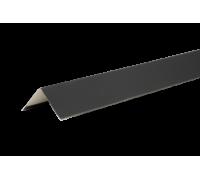 Уголок металлический внешний, 50х50х2000 мм, полиэстр 7004, HAUBERK