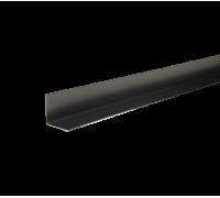 Уголок металлический внутренний, 50х50х2000 мм, полиэстр 7004, HAUBERK