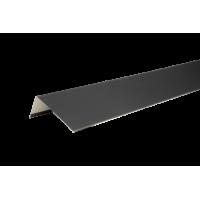 Наличник оконный металлический, 50х100х2000 мм, полиэстр 7004, HAUBERK