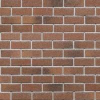 Фасадная плитка HAUBERK (Хауберк), Красный кирпич