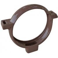 Хомут трубы, (Альта-профиль), коричневый