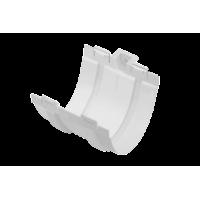 Муфта желоба, (Альта-профиль), белый