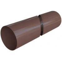 Труба водосточная 3м, (Альта-профиль), коричневый