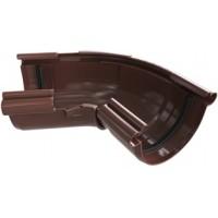 Угол желоба 120-145 гр, (Альта-профиль), коричневый