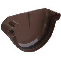 Заглушка желоба, (Альта-профиль), коричневый