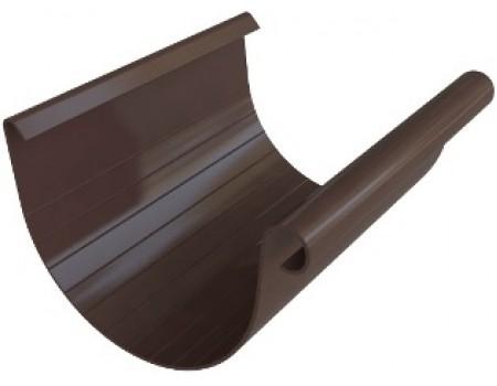 Желоб 4м, (Альта-профиль), коричневый – купить по цене 865 руб.