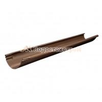 Желоб водосточный,  (Aquarius),8017 (коричневый), 3 м