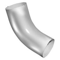 Колено 60 гр, (GL), 90 мм, RAL 9003 (белый)