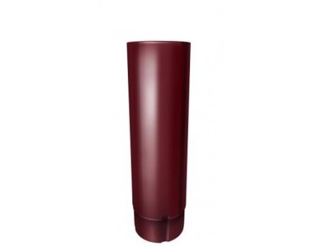 Труба круглая 3 м, (GL), 90 мм, RAL 3005(вишня)