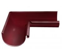 Угол желоба внутренний 90 гр, (GL), 125 мм, RAL 3005(вишня)