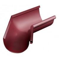 Угол желоба внутренний 135 гр, (GL), 125 мм, RAL 3005(вишня)