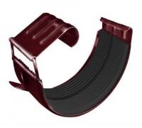 Соединитель желоба, (GL), 125 мм, RAL 3005(вишня)