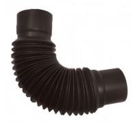 Универсальный гибкий отвод водосточной трубы, (Murol), коричневый